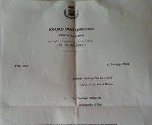 La Città di Sannicandro di Bari (BA) ha aderito al Comitato No Lombroso