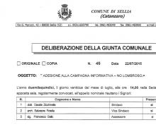 La Città di Sellia (CZ) è Testimonial del Comitato No Lombroso