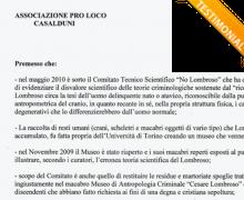 L'associazione Pro-Loco Casalduni è testimonial del comitato No Lombroso