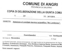 La città di Angri è testimonial del Comitato No Lombroso