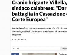 """Cranio brigante Villella, il sindaco calabrese: """"Daremo battaglia in Cassazione e alla Corte Europea"""