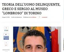 Teoria dell'uomo delinquente, Greco e Sergio al museo