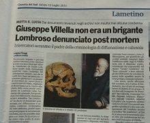 Giuseppe Villella non era un brigante, Lombroso denunciato post mortem