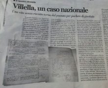 Villella, un caso nazionale
