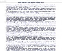 Unità d'Italia: stop al museo degli orrori!